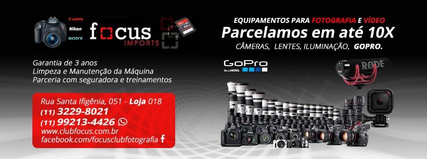 Focus Imports - Câmeras Digitais