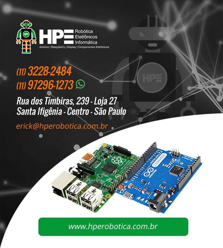 HPE Robótica - Arduinos, Raspberry