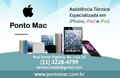 Ponto Mac Assistência Técnica Apple